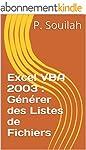 Excel VBA 2003 : G�n�rer des Listes d...