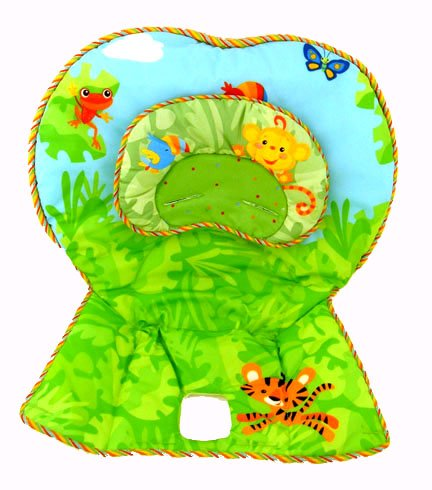 Fisher Price Healthy Care High Chair Replacement Pad - Rainforest
