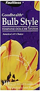 Faultless Goodhealth Bulb Style Feminine Douche System, 1-count