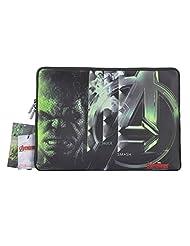 Thrumm Avengers Logo Hulk Steel 13.3-Inch Sleeve For MacBook (Multicolor)