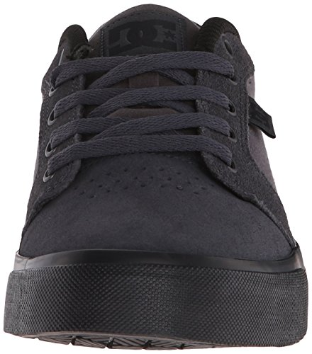 DC Men's Anvil Skate Shoe, Charcoal/Black, 13 M US
