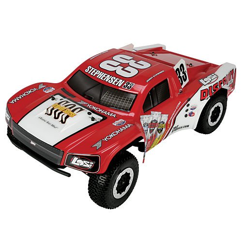 Team Losi 1/10 TEN-SCTE 4WD RTR RC Short Course Truck