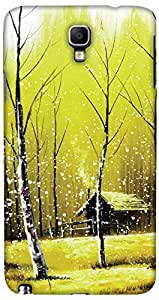 Print Haat Plastic Back Case for Samsung Galaxy Note 3 Neo (Abstract-298)