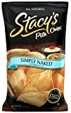 Stacys Pita Chips, Simply Naked, 18-Ounce Bags (Pack of 6)