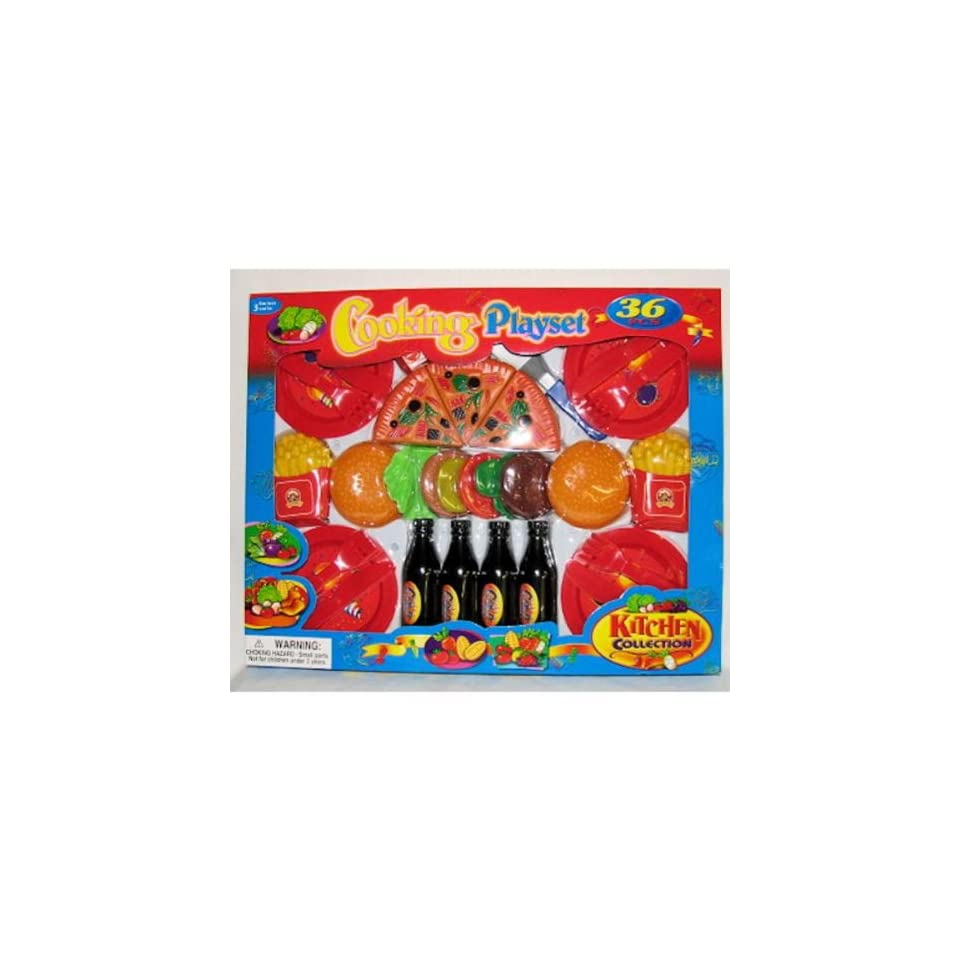 Bulk Buys Kitchen Collection Playset   Pack of 3