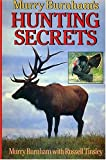img - for Murry Burhnam's Hunting Secrets book / textbook / text book