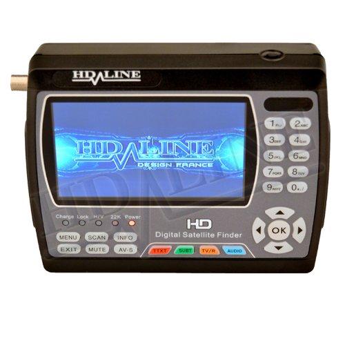 HD-Line HD-900 Original Pointeur Satellite Noir