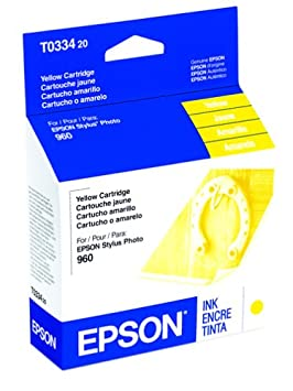 Epson America T033420 StylusPhoto 960 Yellow Ink C