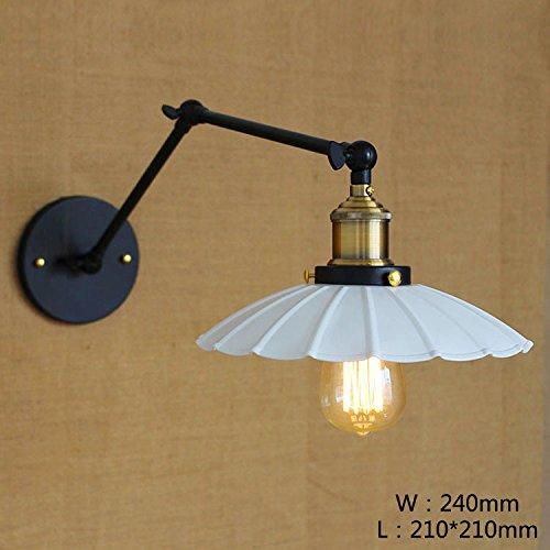 vintage eisen schwinge lampe pers nlichkeit kreative loft bar cafe schlafzimmer schwarz rost. Black Bedroom Furniture Sets. Home Design Ideas
