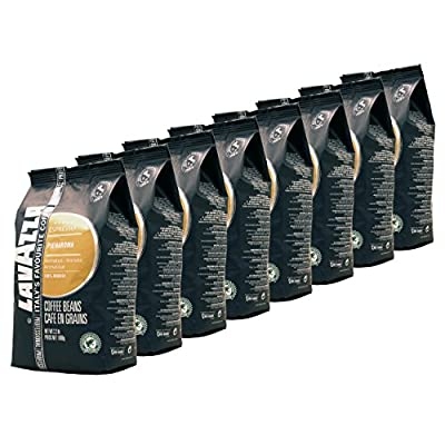 Lavazza Coffee Espresso Pienaroma, whole Beans, Pack of 8, 8 x 1000g