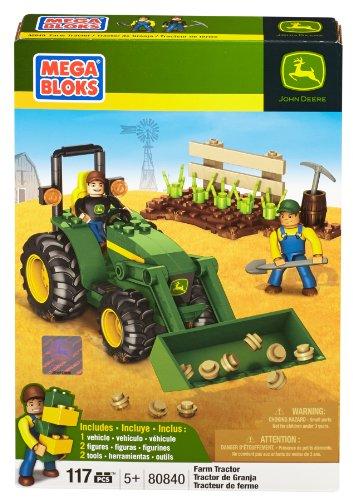 Mega Bloks John Deere Farm Tractor - 1