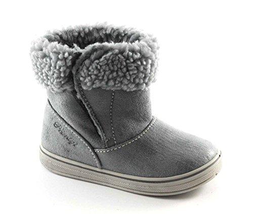 PRIMIGI 45572 25/26 avio grigio scarpe bambina stivaletti strappo lana 26