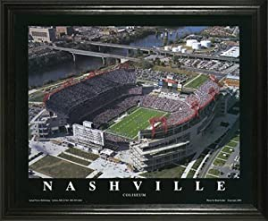 Tennessee Titans - Adelphia Coliseum - LP Field - Lg - Framed Poster Print by Laminated Visuals