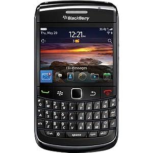 Blackberry BY-9780 3G 850 - Unlocked Cellphone - International Version - Black