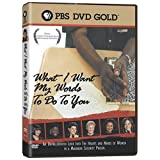 What I Want My Words to Do to You [DVD] [Region 1] [US Import] [NTSC]