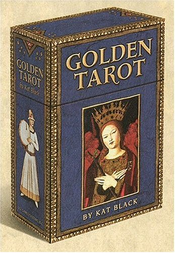 Golden Tarot Deck - 9781572814349