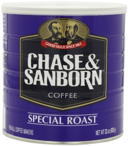 Chase & Sanborn Coffee Special Roast Ground, 33 Ounce (Chase And Sanborn Coffee compare prices)