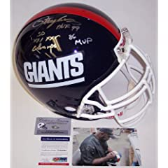 Lawrence Taylor Autographed Hand Signed NY New York Giants Throwback Full Size... by Creative Sports