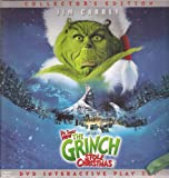 Dr. Seuss How the Grinch Stole Christmas, Collectors Edition, DVD Interactive Play Set (3 Pop-up Scenes in Hardcover Book)