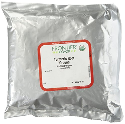 Frontier Turmeric Root Powder Organic Fair Trade Certified, 1 lb (Frontier Natural Products compare prices)