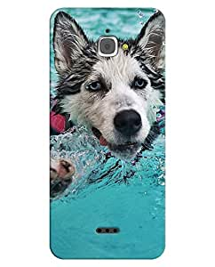 FurnishFantasy 3D Printed Designer Back Case Cover for InFocus M350