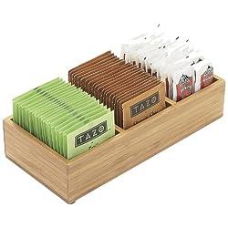 Bamboo Packet Organizer