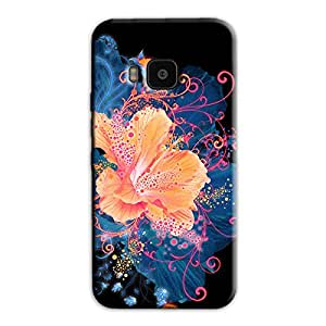 ABSTRACT FLOWER DESIGN BACK COVER FOR HTC ONE M9