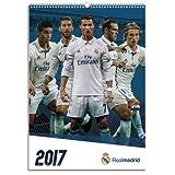 レアルマドリード(Real Madrid) オフィシャル 2017 壁掛け カレンダー