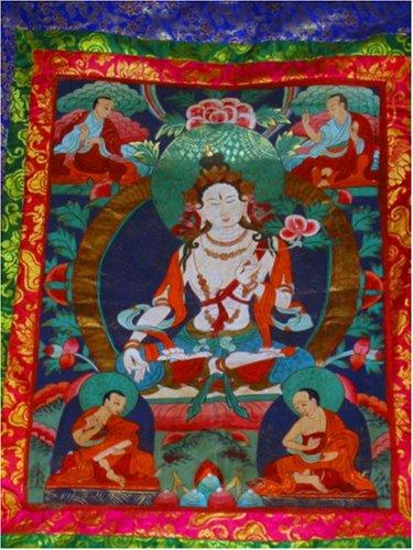 Tara Tang Ka Tibetian Painting- Blue