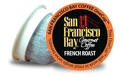 San Francisco Bay OneCup Single Serve, French Roast, 36 Count (San Francisco Bay Espresso Roast compare prices)
