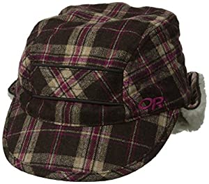 Outdoor Research Women's Trophy Trapper Hat, Café/Earth, Small