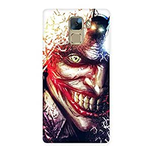 Delighted Crazy Insanity Multicolor Back Case Cover for Huawei Honor 7