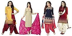 Fashion Dream Women's Printed Dress Material