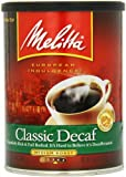 Melitta Classic Decaffeinated, Medium Roast Ground Coffee, 10.5-Ounce Cans (Pack of 4)