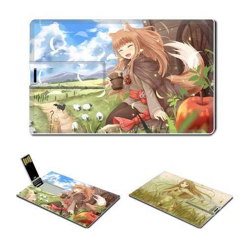 Spice And Wolf Anime Comic Game ACG Customized USB Flash Drive 16GB