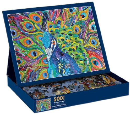 Lang Cacophony of Color by Elizabeth St. Hilaire Nelson Jigsaw Puzzle (500-Piece)
