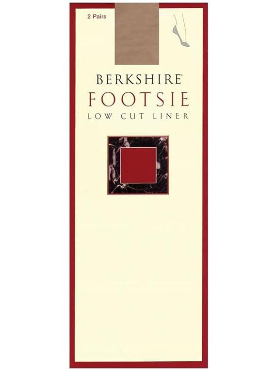 Berkshire Women's Footsies Low Cut 2 Pack Liner Pack of 3