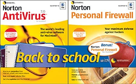 Norton AntiVirus 7.0/Norton Personal Firewall 1.0 Bundle
