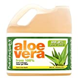 Aloe Vera Juice, Original, 128 Fl Oz, Pack of 4 (Tamaño: 5.75 x 7.00 x 8.25 Inches)