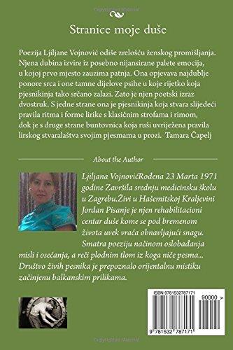 Stranice moje duse: zbirka pesama Ljiljane Vojnovic