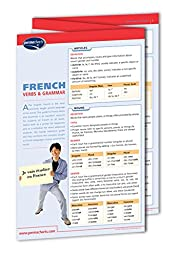 French Verbs & Grammar - Languages - Quick Reference Guide by Permacharts