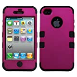 Product B008EOPXYM - Product title MYBAT IPHONE4AVHPCTUFFSO004NP Premium TUFF Case for iPhone 4 - 1 Pack - Retail Packaging - Titanium Solid Hot Pink/Black