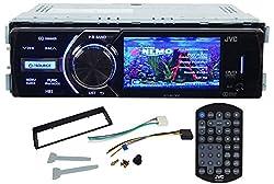 See JVC KD-AV300 In-Dash Single Din Car DVD/CD Receiver With 3