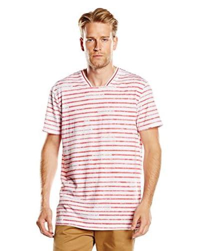 Diesel T-Shirt Manica Corta Classic [Bianco/Rosso]