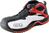 ELF(エルフ) ピットシューズ GEARTECH01(ギアテック01) ホワイト/レッド 26.5cm ELG01