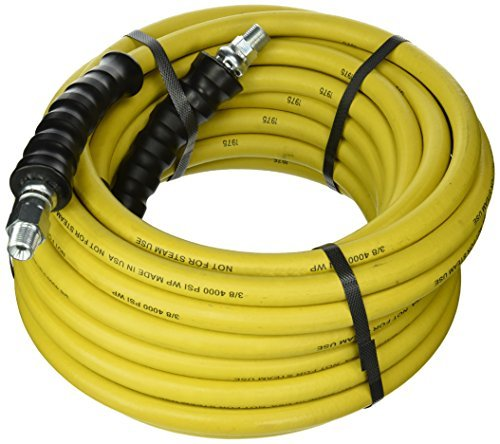 good-year-12630-rubber-pressure-washer-hose-50-x-3-8-yellow-by-goodyear