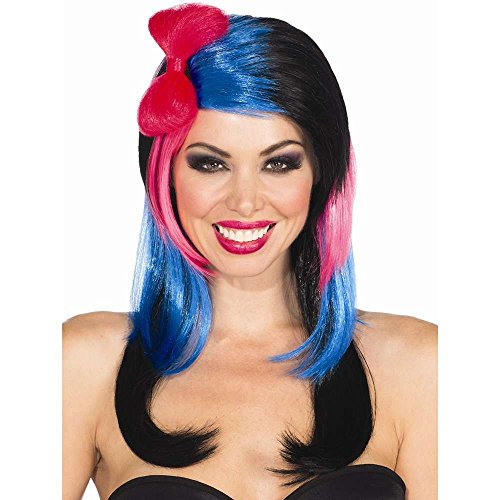 Rubie's Costume Baby Girl Bow Wig, Multicolor, One Size