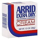 Arrid Extra Dry Anti-Perspirant & Deodorant, Cream, 1.0 oz (28 g)