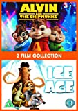 Alvin And The Chipmunks / Ice Age 1 Double Pack [DVD]