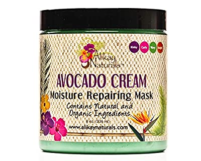 Alikay Naturals - Avocado Cream Moisture Repairing Hair Mask 8oz